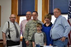 Johnson County OK's April As Month Of The Military Child